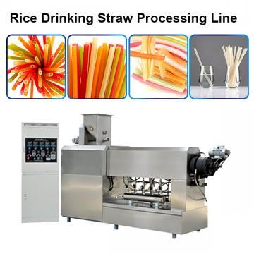 Macaroni Pasta Degradable Drinking Straw Production Line Extruder Making Machines