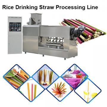Jinan Sunward 100-150kg/H Edible Rice Making Drinking Straw Machine