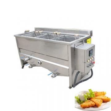 Sunward Automatic Fried Corn Bugles Snacks Making Machine Line Automatic Fried Wheat Bugle Snacks Production Line Frying Snacks Equipment