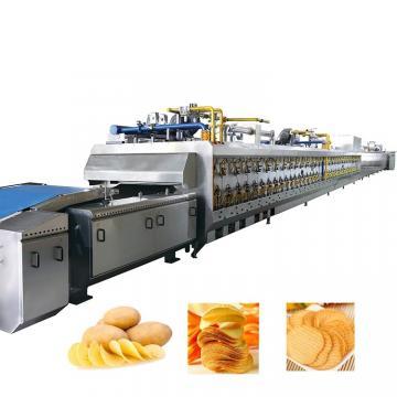 Automatic Frying Food Crisp Machines Potato Crisp Processing Line Salad Chips Making Machine Supplier Auto Salad Snack Food Machine