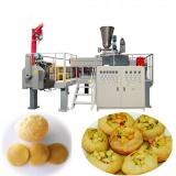 Automatic 3D Snack Pellets Panipuri Golgappa Fryums Making Machine