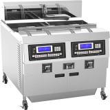 Stainless Steel Deep Fryer Chicken Deep Fryer Machine Chip Frying Equipment